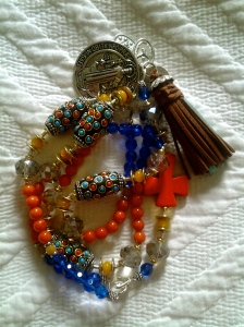 The most beautiful Rosary bead I have ever seen!