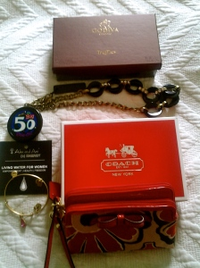 Coach & More Alex & Ani, thanks to my Sis