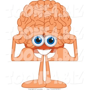 vector-illustration-of-a-cartoon-human-brain-flexing-his-muscles-by-toons4biz-6011