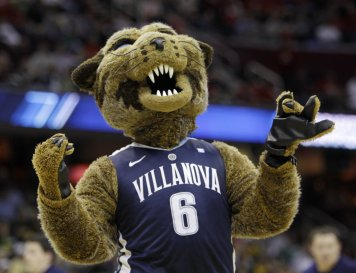 There's that scary Wildcat again. villanova.edu